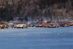 racing on otsego lake - wintercarnival